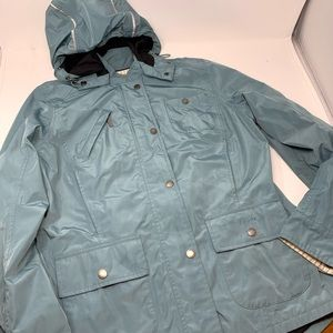 Barbour waterproof jacket size 10 J1